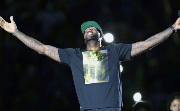 Le retour du King à Cleveland !