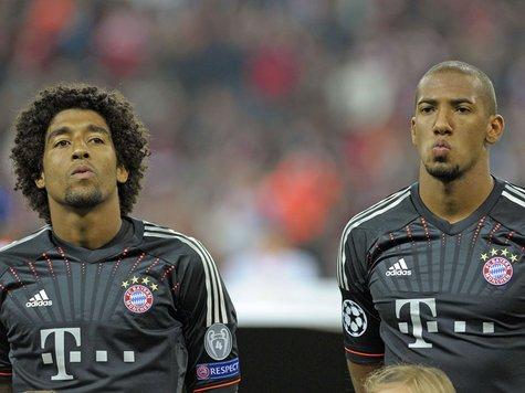 Boateng et Dante jouent les musclés !
