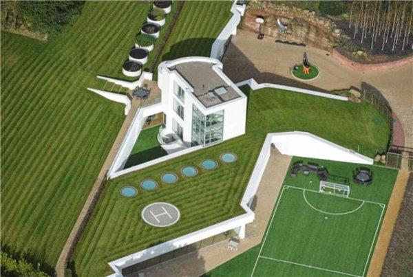La nouvelle maison de Balotelli !