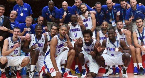 Les bleus Médaille de Bronze à l'Eurobasket 2015