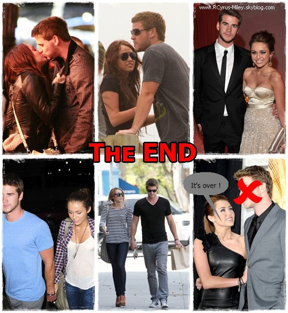 • Miley - Candid • Miley & Liam - Broke up