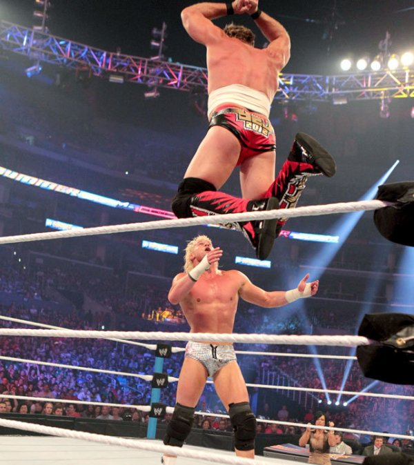 SUMMERSLAM : Chris jerico vs Dolph Ziggler