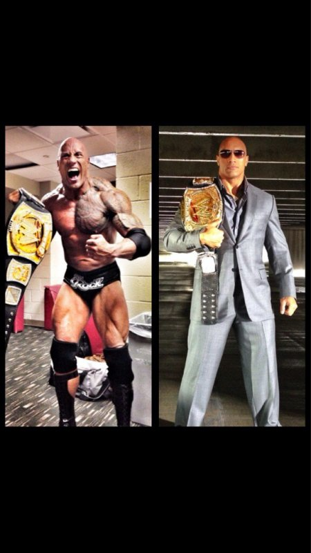 the rock le nouveau champion de la WWE