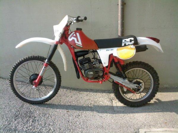 Aprilia RC 50