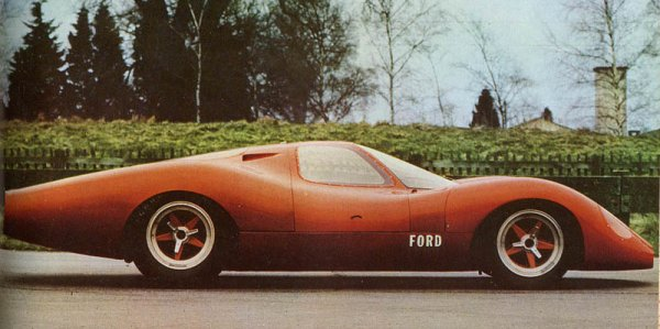 Ford P68, when racecars were sexy...