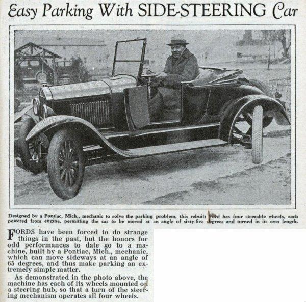 4 wheel steering...