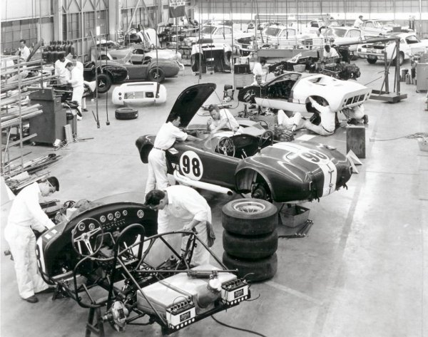 Shelby factory...