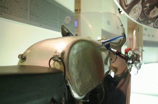 Passage par le museo ducati lors du WDW 2012..