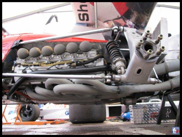 Red Bull rear suspension