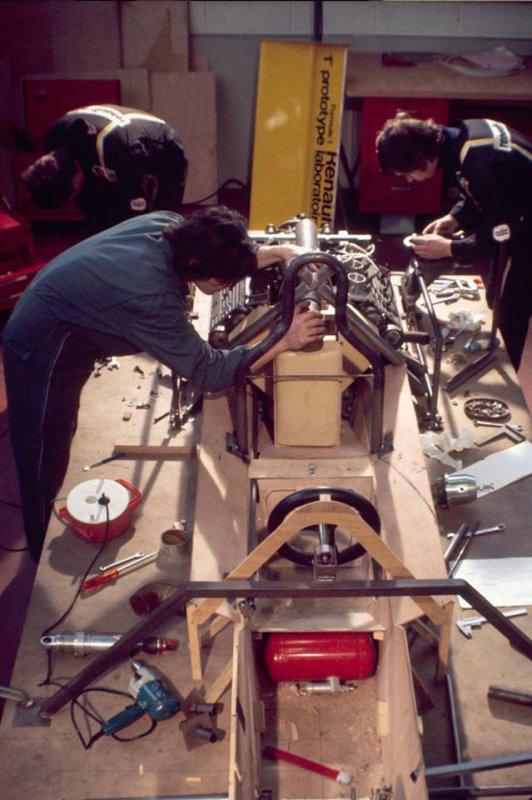 Renault Sport dans les années 70...