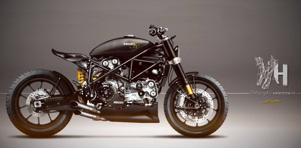 Ducati 999S by Holographic hammer