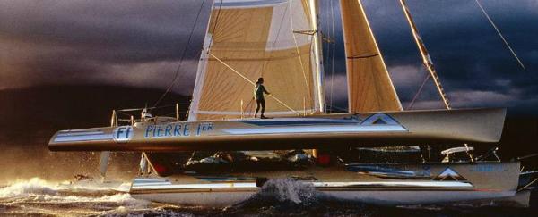 Florence Arthaud, 1990..