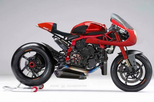 Panigale cafe racer !!
