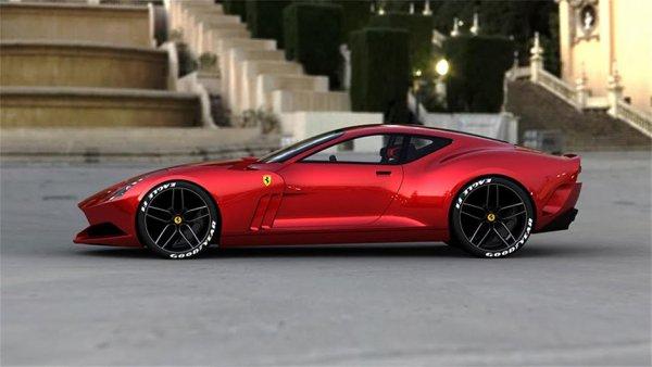 Ferrari 612 GTO Concept ..