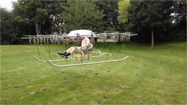 Helico-drone