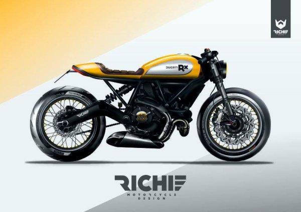 Scrambler by Richie Motorcycle Design