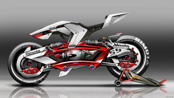Bimota project by Jean-Thomas Mayer ...    yeaahhhhhh...