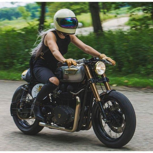 Ride with style or stay home ..