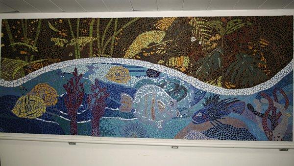 Premier acte de l'Art-Thérapie en Polynésie: Fresque terminée!