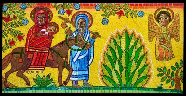Sainte Famille en style Ethyopien... Que du bonheur..