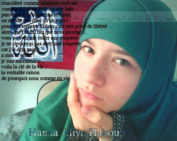 musulmanne et fiere de l'etre