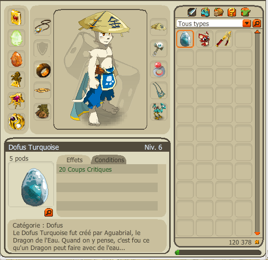 Oh My Good It's a DOFUS TURQUOISE ! :O <3