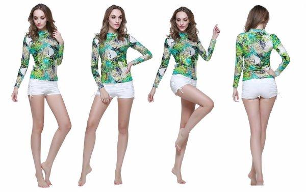 Pour les fans du surf, des tenues colorées et anti UV pour cette été
