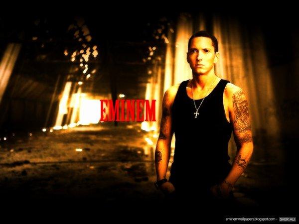 Eminem se confie sur son passé de toxicomane.