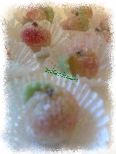 fruit aux amande pas mal pour les fêtes