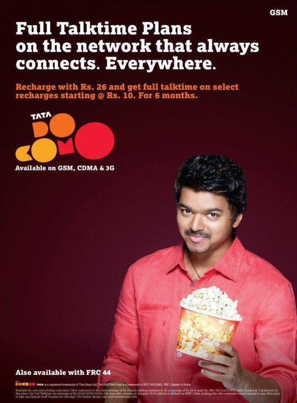 Vijay For Tata DoCoMo