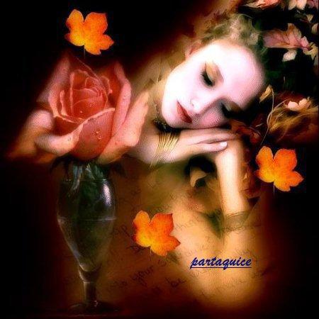 belle, comme un doux et chaud rayon de soleil, comme une perle d'eau sur la tige d'une fleur, plus belle encore, que le plus bel arc en ciel c'est toi, mon amour, qui enflamme mon c½ur.  belle, comme un bouton de rose, léché de rosée, comme une coccinelle posée sur une feuille, toutes les couleurs en moi, tu as su allumer et il n'y a que toi qui ravisse mon ½il.  au fond d'une sauteuse, comme un bouquet garni tu as su relever la fadeur de ma vie. pour toi, belle maîtresse, je resterai le feu qui réchauffe, fait cuire et me rend amoureux.  belle, comme un lever de soleil à l'aurore, sur les monts enneigés de blanc, touchés par l'or des rayons de cet astre, tel dans un trésor, tu es la pierre qui luit, de l'ensemble ressort.