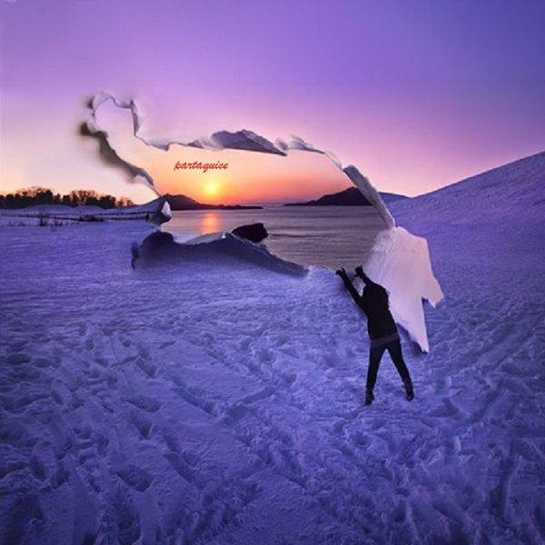 ♥ dans ma vie j'ai fait beaucoup de belle chose mais t'aimer est de loin la meilleure chose que j'ai faite sur terre, ce sentiment qui me réchauffe malgré ce climat glacial, mon amour peut importe ce qui m'arrivera demain je ne cesserai jamais de t'aimer.♥