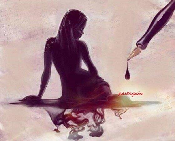 ma poésie à fleur de peau. l'inspiration ne se dévoile .juste plein de mots qui ne veulent pas lever le voile. a la plume de ta flamme enflamme mon âme. enflamme mes mots .qu'ils touchent au plus haut de mon âme solitaire .il m'arrive à me sentir seul. si sensible à l'univers si futile rêveur seule. guéri moi de ma vie .de ces mots qui ne viennent pas .guéri moi ma poésie ,de ce que je ne sais pas