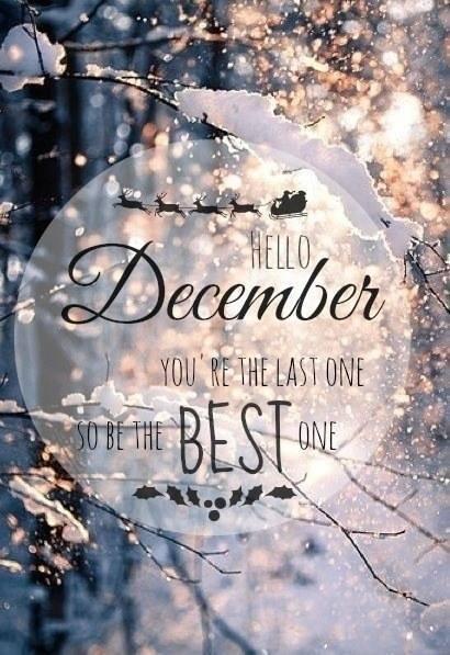♥ Hello December ♥