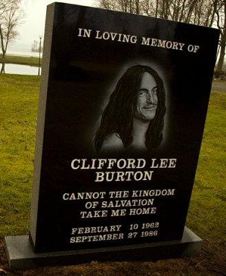 Hommage à Cliff Burton