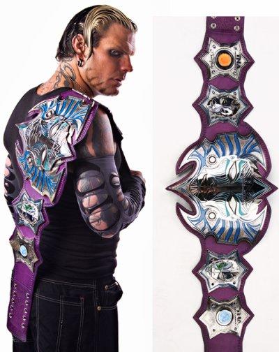 Nouvelle ceinture TNA par Jeff Hardy