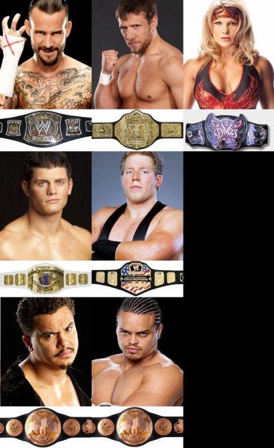 Champions après le Royal Rumble