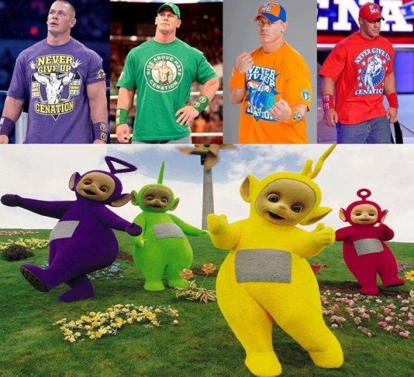 D'où John Cena trouve ses tenues