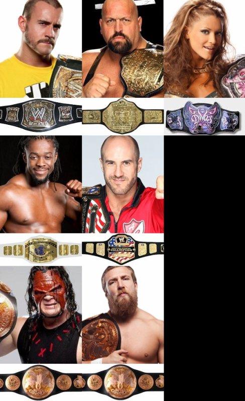Champions après les Survivor Series