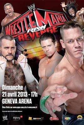 Résultats WrestleMania Revenge Tour 2013 à Genève