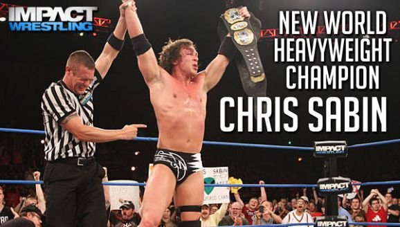Chris Sabin New TNA World Heavyweight Champion!!!!!!!!