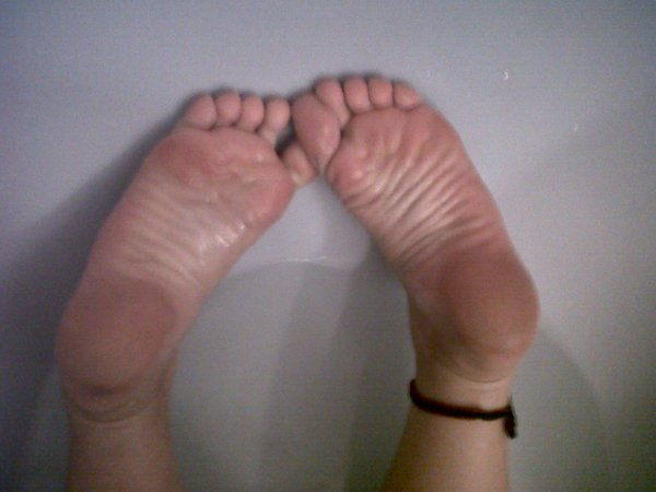Photos de mes pieds -transition