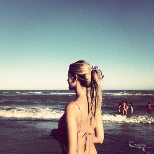 « Derniers jours d'été »#ClaraAlonso | Nouvelle photo apparue mercredi.