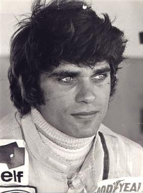 François Cevert  29 ans ,  mort en course  le 6 octobre 1973 au  GP des États-Unis..
