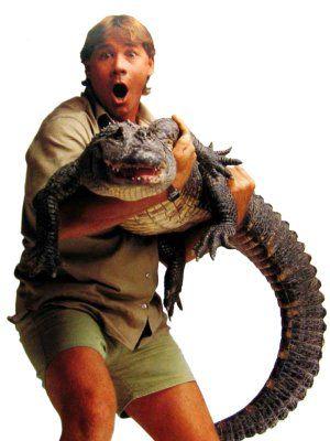 Steve Irwin  44 ans , mort le 4 septembre 2006 à Queensland , piqûre  de raie