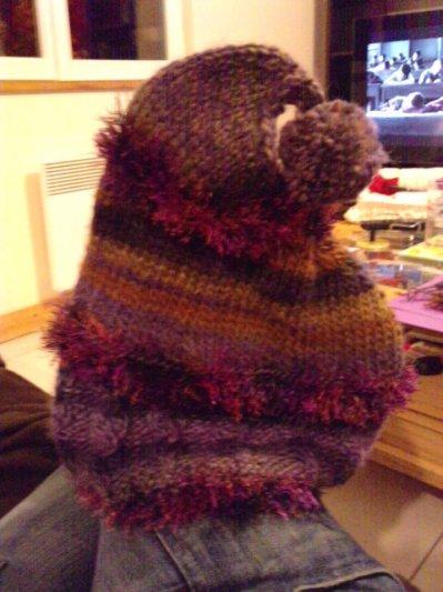 Entre deux dessins (et surtout en hiver) je tricote !