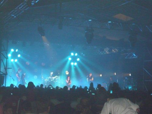 Le concert de Jenifer
