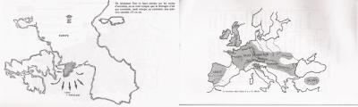 Diverses cartes de Bretagne