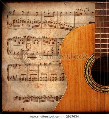 Chanson_ Sérénade Pour Une Guitare
