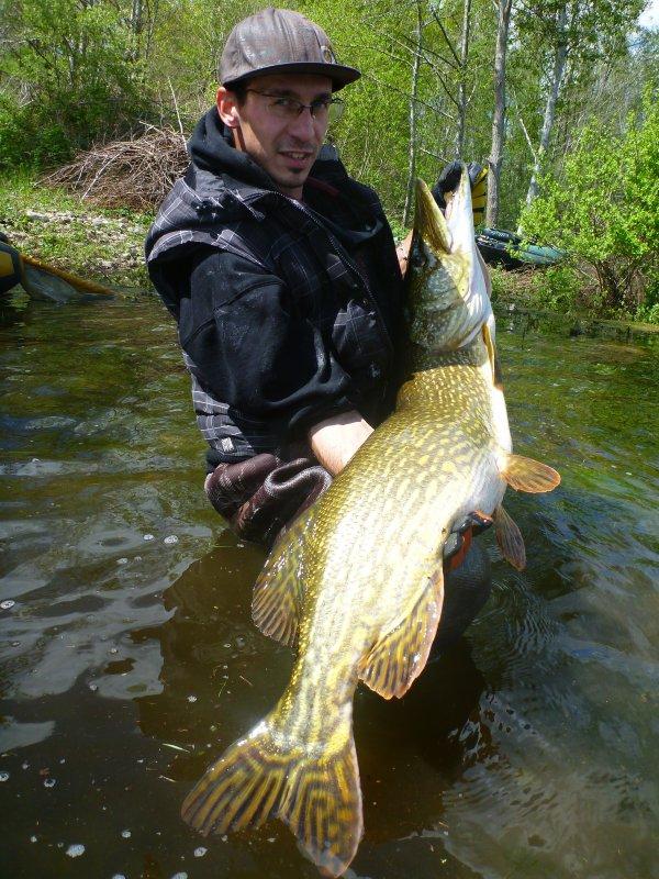 un poisson d'ouverture: 1m22 de plaisir